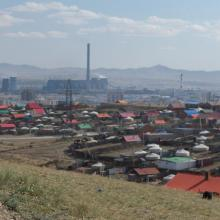 Danny searching for cellular providers to monitor in Mongolia. July 2015